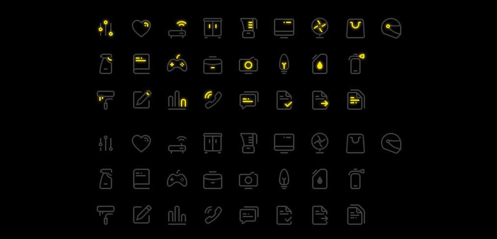 Figma free icon set (25 icons) - FigmaCrush com