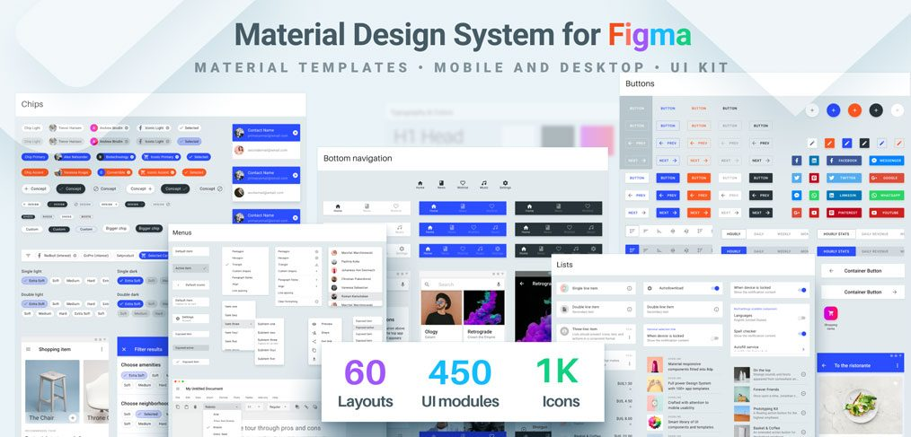 Material Design System for Figma (Premium)