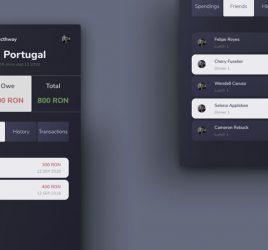 Payment split mobile concept