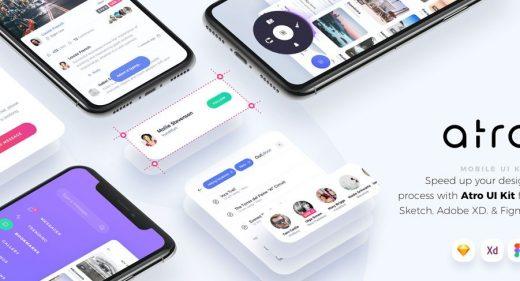 Atro – Figma UI kit (Premium)