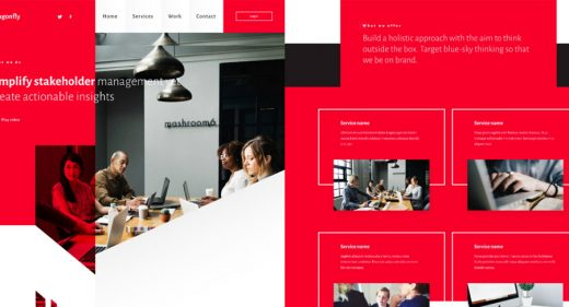 Dragonfly Business Website Template