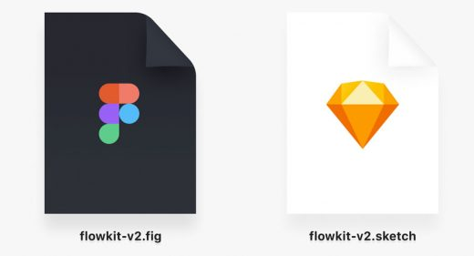 Figma and Sketch document icons