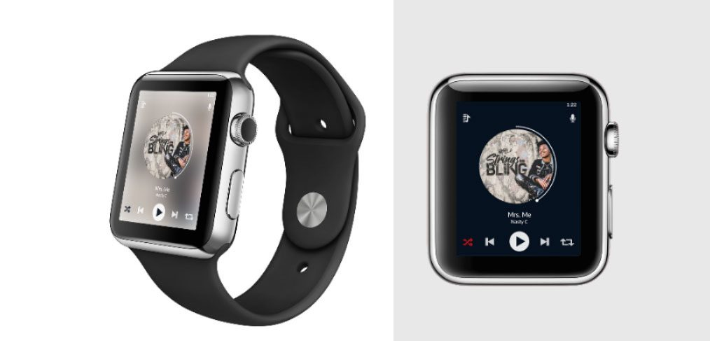Music player for Apple Watch