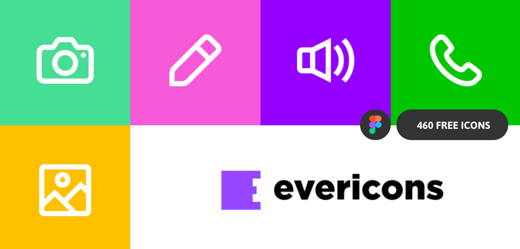 evericons free figma icons