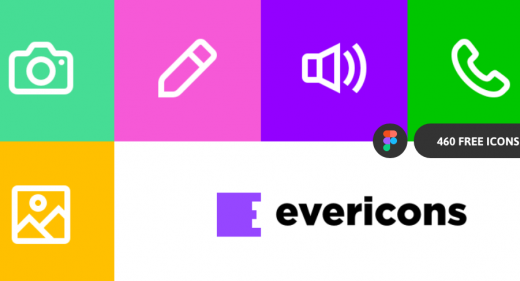 evericons free figma icons