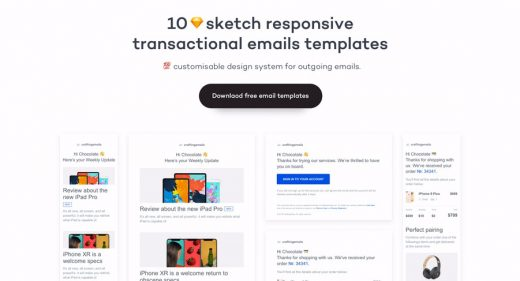 10 Free Figma responsive email templates