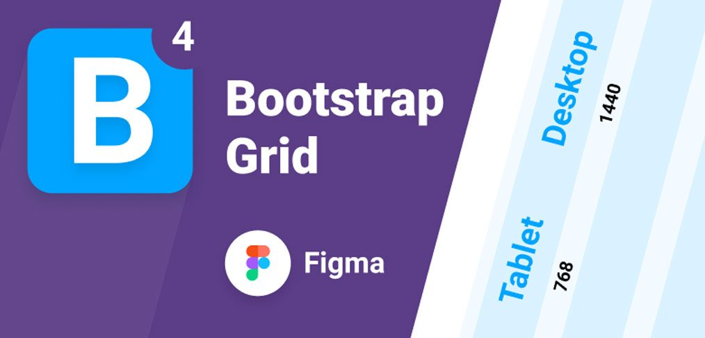 Bootstrap Grid v4 for Figma