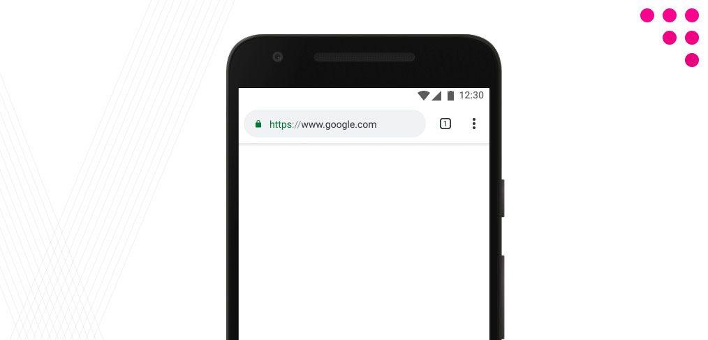 Chrome mobile mockup for Figma - FigmaCrush com