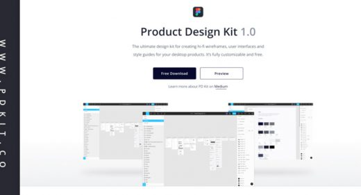 Free Figma Product Design Kit