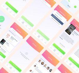 Book App Free Figma UI kit