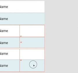 Figma table component