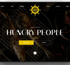 Restaurant Website Figma Template