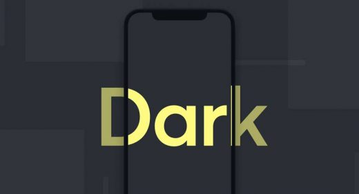 iPhone X Dark Figma mockup