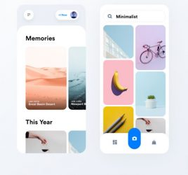 Image library Figma mobile concept
