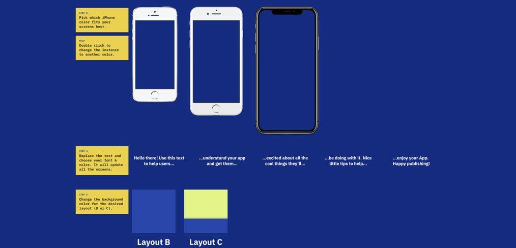 App Store screenshots generator