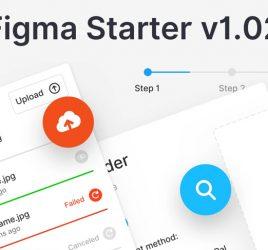 Figma starter free UI kit