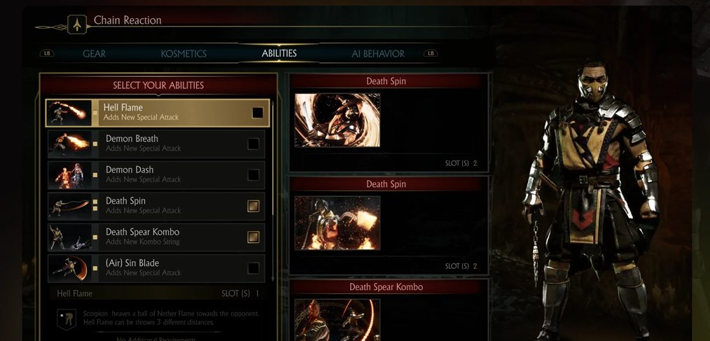 Mortal Kombat 11 Game UI Figma