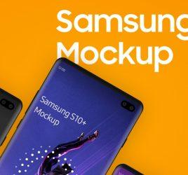 Samsung S10+ Figma Mockup