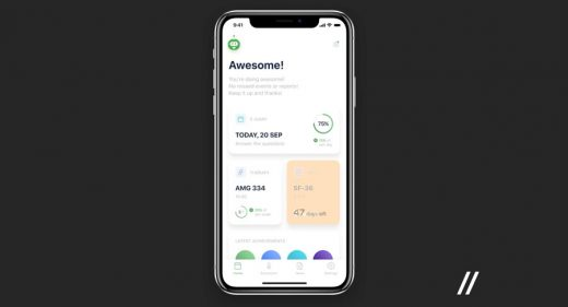 Doctors healthcare Figma app template