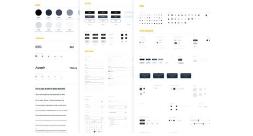 Wireframe Style Guide Figma Template