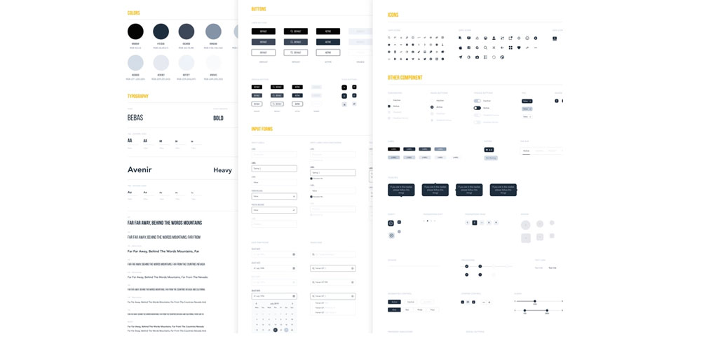 Wireframe Style Guide Figma Template - FigmaCrush com