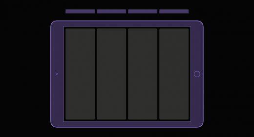 iPad grid templates for Figma