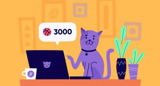Figma free cat illustration