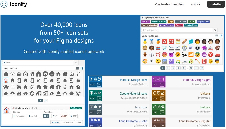 Iconify Figma Plugin