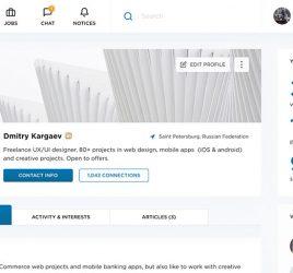 Linkedin Figma template redesign