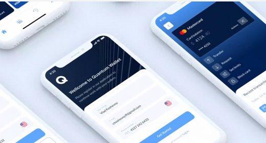 Wallet app Figma mobile template