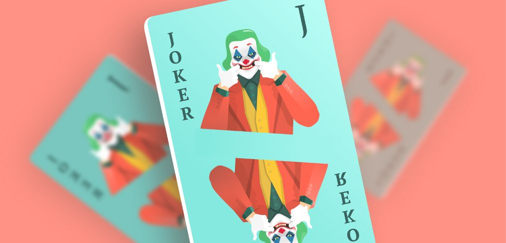 Joker card Figma illustration