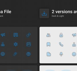 Dark & Light free Figma icons