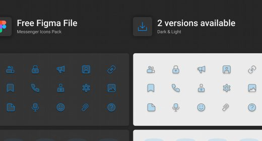 Dark & Light free Figma icons