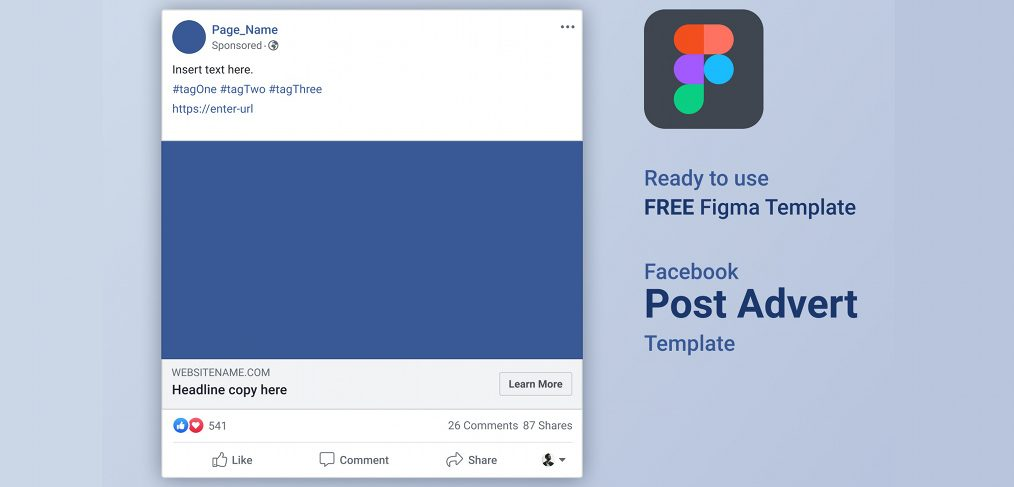 facebook ads free figma template