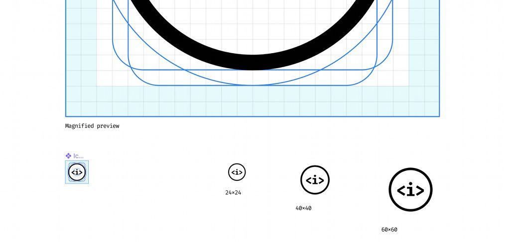Figma icon creation template