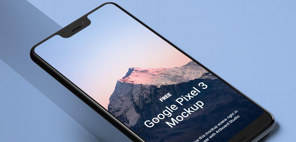 Free Google Pixel Figma mockup