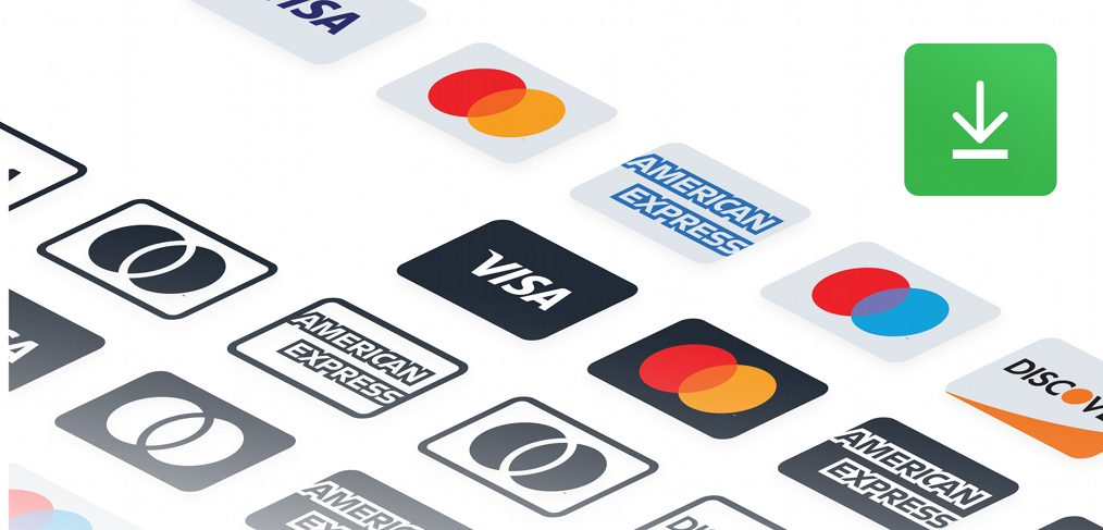 Payment methods Figma icons - FigmaCrush.com