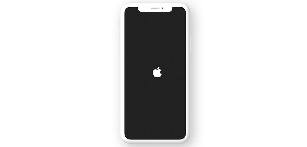 Black&white iPhone X Figma mockup
