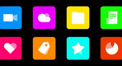Colorful icons Figma freebie