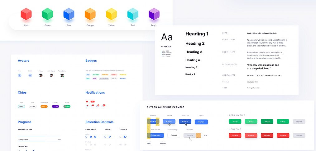 Core Design System template