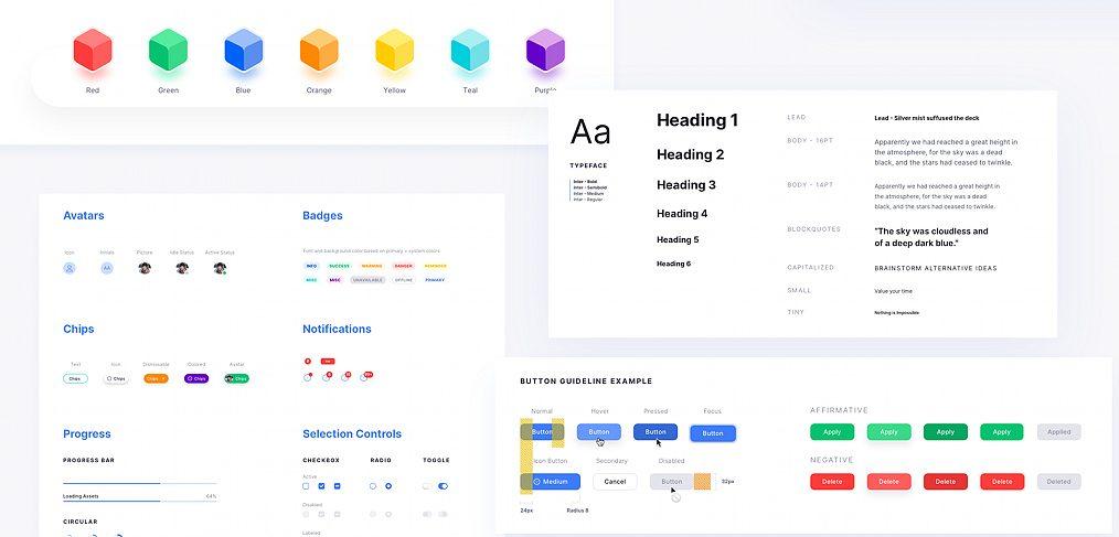 ตัวอย่าง Design System (Source)
