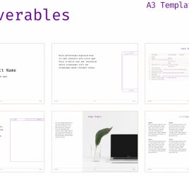 Figma deliverables template