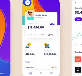 Figma Banking app concept template