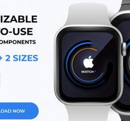 Figma Apple Watch mockup