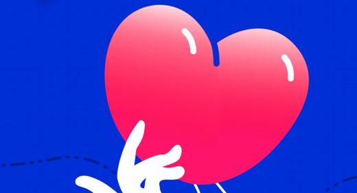 Heart vector Figma illustration