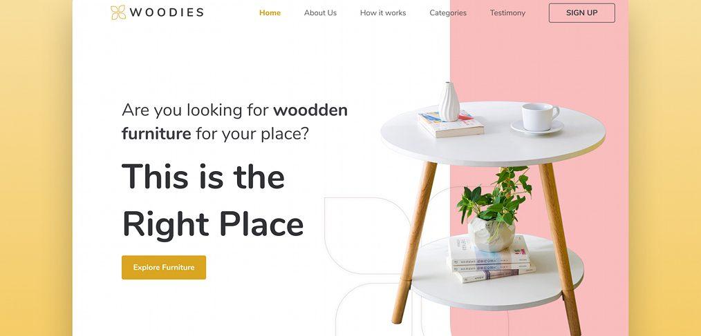 furniture-shop-figma-landing-page