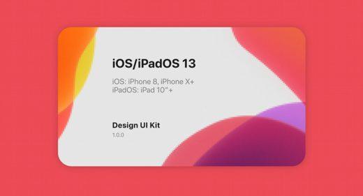 iOS 13 & iPadOS 13 Figma UI kit