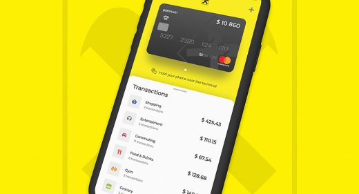 Figma banking app free template