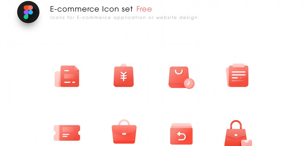 Free Ecommerce icons for Figma