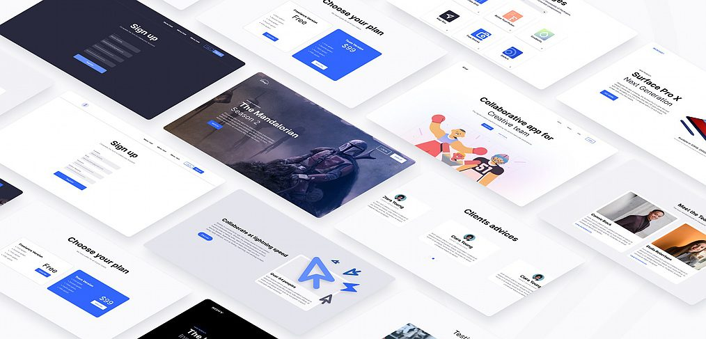 Exo - Figma design system template